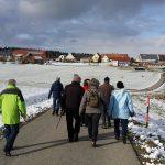 Winterwanderung zur Krippenausstellung in Schöneburg am 21.01.2018
