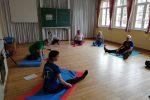 Gymnastik in der alten Schule