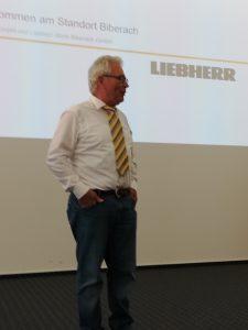Betriebsbesichtigung Liebherr Biberach