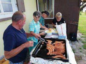 Grillfest mit Coletta-Deusser-Haus