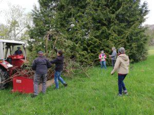 Arbeitseinsatz Baumsammlung 05.05.21